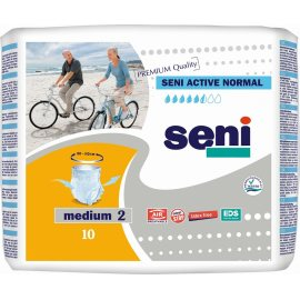 Трусы для взрослых SENI ACTIVE Medium 10шт Normal 80-110см