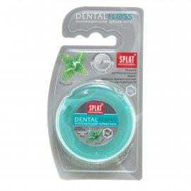 Зубная нить SPLAT Professional 30м Мятная с волокн.серебра Dentalfloss