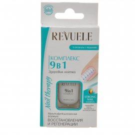 Комплекс для ногтей Revuele 9в1 Здоровье ногтей Восстановление и регенерация 10мл