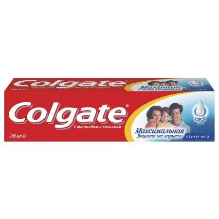Зубная паста COLGATE Cavity Protection Свежая мята 100мл