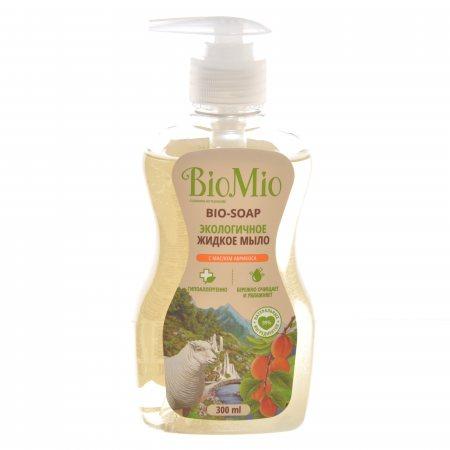 Мыло жидкое для рук BioMio Bio-Soap с маслом абрикоса Экологичное 300мл