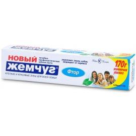 Зубная паста НОВЫЙ ЖЕМЧУГ Фтор 125мл