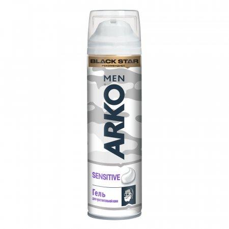 Гель для бритья ARKO для чувствительной Sensitive 200мл