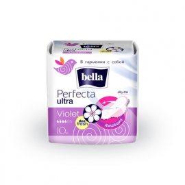 Прокладки BELLA PERFECTA дышащие с крылышками 10шт Ultra Violet Silky drai Deo Fresh