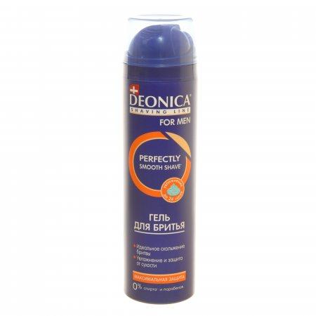 Гель для бритья DEONICA For Men Максимальная защита 200мл