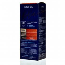 Крем-краска для волос ESTEL LOVE 8/54 Красная медь