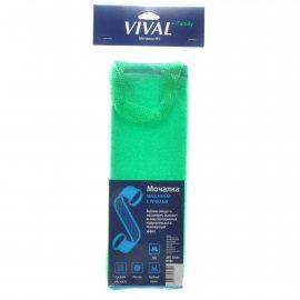 Мочалка для тела VIVAL Массажная Family с ручками