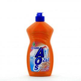 Средство для мытья посуды AOS Бальзам 500г