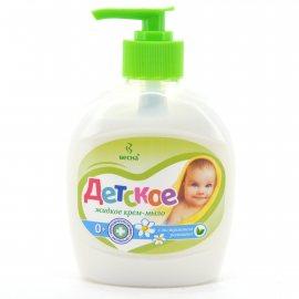 Крем-мыло жидкое ДЕТСКОЕ С экстрактом ромашки 280г