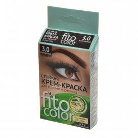 Крем-краска для бровей и ресниц FITOCOLOR Стойкая 3.0 Коричневый