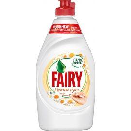 Средство для мытья посуды FAIRY Ромашка и Витамин Е Нежные руки 450мл