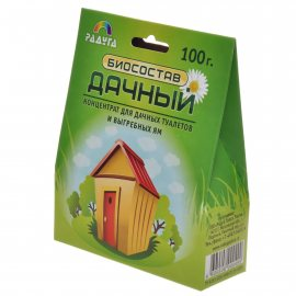Биосостав ДАЧНЫЙ для дачных туалетов и выгребных ям 100г