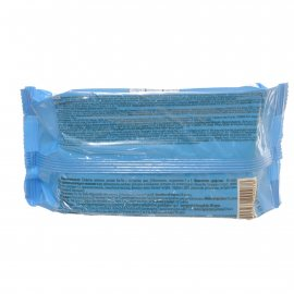 Салфетки влажные ТИК-ТАК 60шт С экстрактом Алоэ,Д-пантенолом,вит.F и E