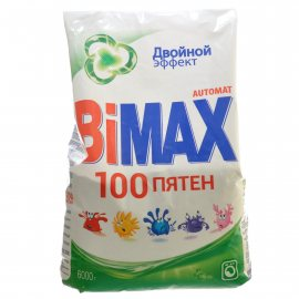 Стиральный порошок BIMAX Автомат 100 ПЯТЕН IQ SMART 7 Активных компонентов 6000г