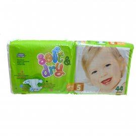 Подгузники HELEN HARPER Soft&Dry 11-25кг 44шт junior 5