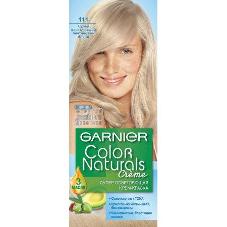 Крем-краска для волос GARNIER COLOR NATURALS стойкая 111 Платиновый блондин