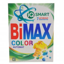 Стиральный порошок BIMAX Автомат Color IQ SMART 7 Акт.комп. 400г