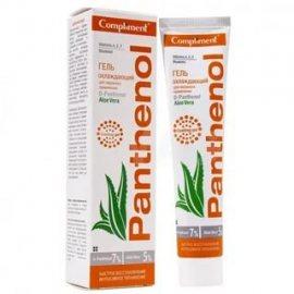 Гель COMPLIMENT Panthenol Охлаждающий для наружного применения Aloe Vera 75мл