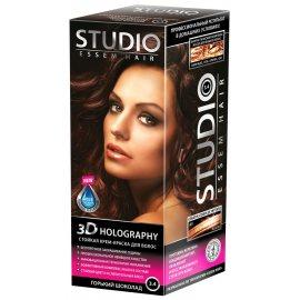 Крем-краска для волос STUDIO стойкая 3.4 Горький шоколад