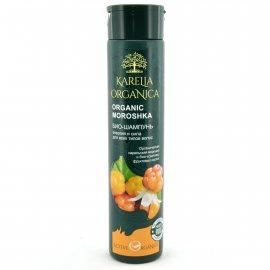 Био-шампунь для волос KARELIA ORGANICA Энергия и сила для всех типов Organic Moroshka 310мл