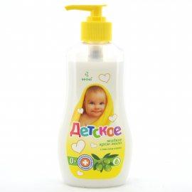 Крем-мыло жидкое ДЕТСКОЕ С маслом оливы 280г