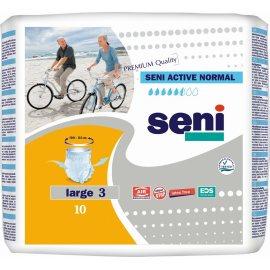 Трусы для взрослых SENI ACTIVE Large 10шт Normal 100-135см