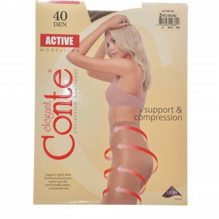 Колготки CONTE Active 006 40 р.2 Bronz/Бронза