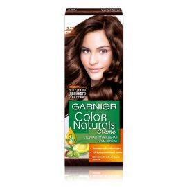 Крем-краска для волос GARNIER COLOR NATURALS стойкая 3.23 Темный шоколад