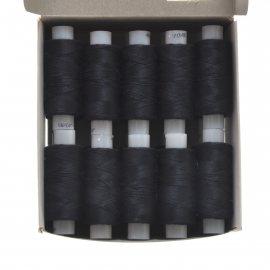 Нитки швейные 40лш 200м черные