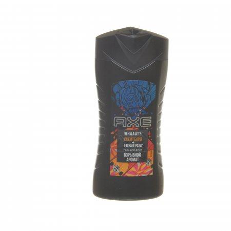 Гель для душа AXE Скейтборд и розы Взрывной аромат 250мл
