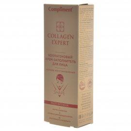 Крем-заполнитель для лица COMPLIMENT Collagen Expert Ночное восстановление Коллагеновый 50мл