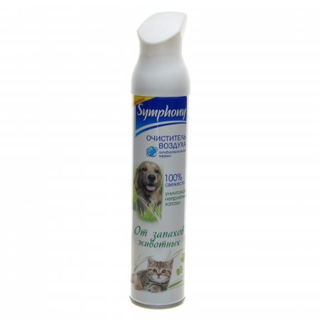 Очиститель воздуха SYMPHONY Нейтрализует неприятные запахи от дом.животн. 300мл
