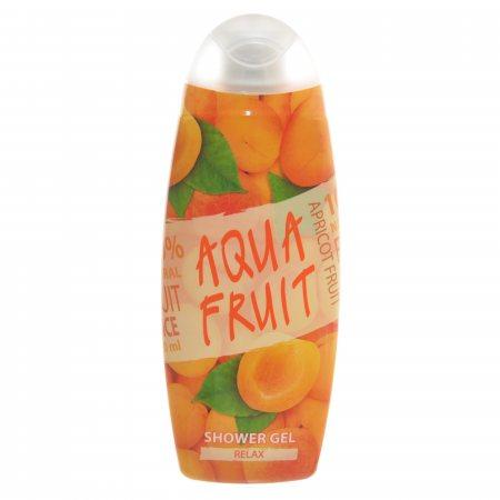 Гель для душа AQUAFRUIT Relax персиковое масло 420мл