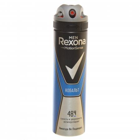 Антиперспирант REXONA Men V мужской спрей Cobalt 150мл