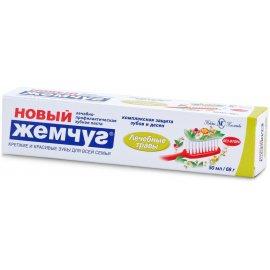 Зубная паста НОВЫЙ ЖЕМЧУГ Лечебные травы 50мл