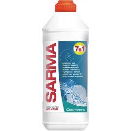 Средство для мытья посуды SARMA Гель 7в1 Fresh Антибак.б/хлора 500мл
