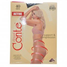 Колготки CONTE Active 006 40 р.3 Nero/Черный