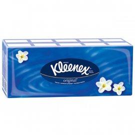 Платки носовые KLEENEX блок 10х10шт трехслойные Original