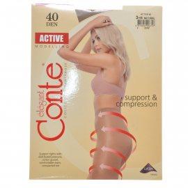 Колготки CONTE Active 006 40 р.3 Natural/Натур.
