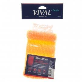 Мочалка для тела VIVAL Массажная рукавица с манжетой асс