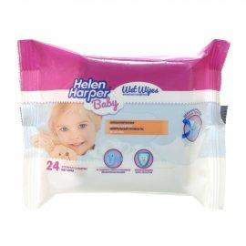 Салфетки влажные для детей HELEN HARPER Baby 24шт