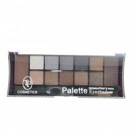 Тени TRIUMPF Pearl & Matte двенадцатицветные №02 Серо-коричневая Eyeshadow