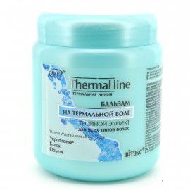 Бальзам для волос BIELITA Thermal line Тройной эффект для всех типов волос на термальной воде 450мл