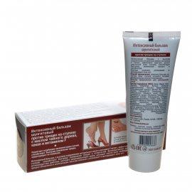 Бальзам для ног ШУНГИТ Природная аптека против трещин ступней Масло чайного дерева, какао, вит.F 75мл