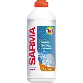 Средство для мытья посуды SARMA Гель 7в1 Active без хлора 500мл