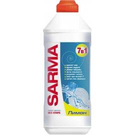 Средство для мытья посуды SARMA Гель 7в1 Лимон Антибак. 500мл