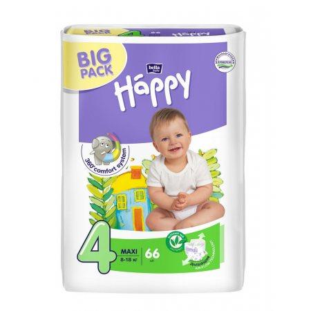 Подгузники BELLA HAPPY 8-18кг 66шт Maxi 4