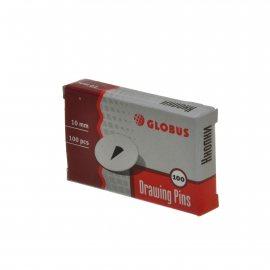 Кнопки GLOBUS 10мм 100шт /Рыльск