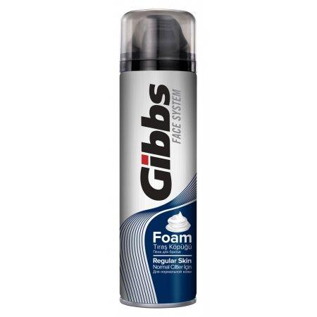 Пена для бритья GIBBS для нормальной кожи Regular 200мл