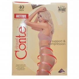 Колготки CONTE Active 006 40 р.6 Bronz/Бронза